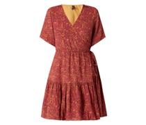 Kleid in Wickel-Optik Modell 'Rislo'
