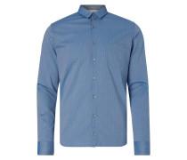 Extra Slim Fit Freizeithemd mit Streifenmuster