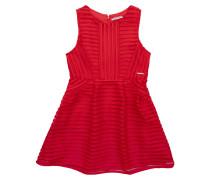 Kleid mit Zierstreifen