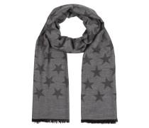Schal mit Sternenmuster