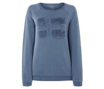 Sweatshirt mit Logo-Print und Message