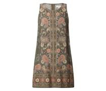 Minikleid mit Paisley-Muster