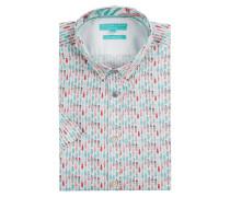 Regular Fit Freizeithemd aus Baumwolle Modell 'Yuri'