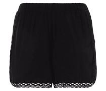 PLUS SIZE - Shorts mit Häkelspitze