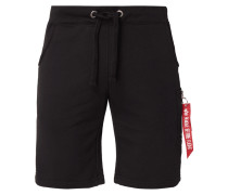 'X-FIT CARGO' Sweatshorts mit Reißverschlusstasche