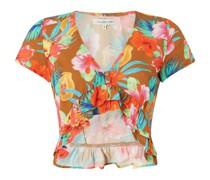 Bluse mit floralem Muster Modell 'Treezi Pearlday'