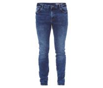 Acid Washed Jeans im Skinny Fit