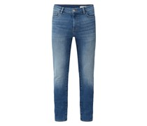 Skinny Fit Jeans aus Baumwolle