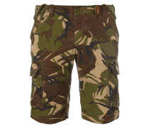 Cargoshorts mit Camouflage-Muster