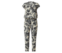 Jumpsuit in Batik-Optik