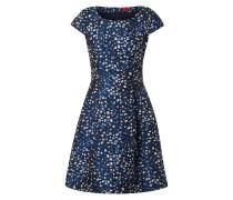 Kleid mit Jaquardmuster