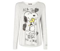 Shirt mit Peanuts©-Print und Message