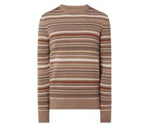 Pullover aus Bio-Baumwolle Modell 'Aaros'