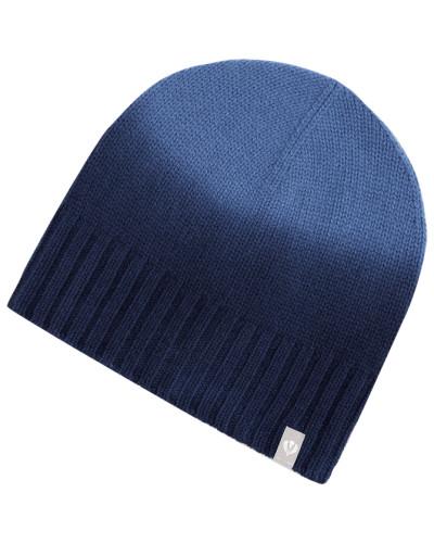 Mütze aus Kaschmir mit Farbverlauf