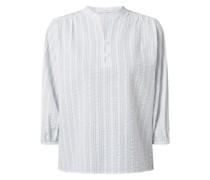 Blusenshirt mit Streifenmuster Modell 'Flanja'