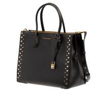 Handtasche mit Nietenbesatz