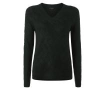 Pullover mit verlängerter Rückseite