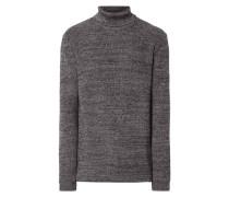 Rollkragen-Pullover aus Baumwolle