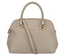 Handtasche mit Riemen in Flechtoptik