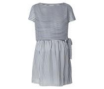 Kleid mit locker fallendem Besatz