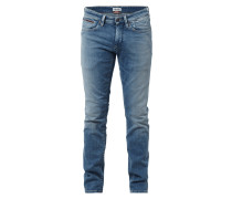 Slim Fit Stone Washed Jeans
