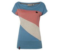 Shirt im dreifarbigen Design