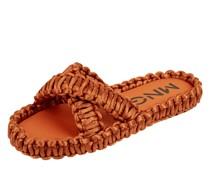 Pantolette in Flecht-Optik Modell 'Crochet'