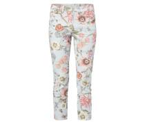 5-Pocket-Jeans mit floralem Muster