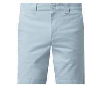 Chino-Shorts mit Stretch-Anteil Modell 'Cobden'