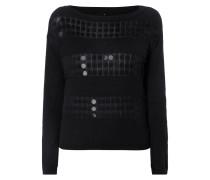 Pullover mit eingearbeiteten Pailletten