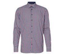 Slim Fit Business-Hemd mit Karomuster