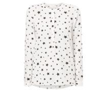 Blusenshirt mit Sternenmuster