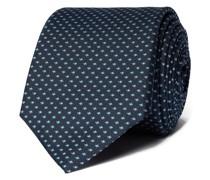 Krawatte aus Seide mit Allover-Muster