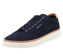 Sneaker aus Leder und Textil Modell 'San Prep'