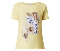 T-Shirt mit Ziersteinen