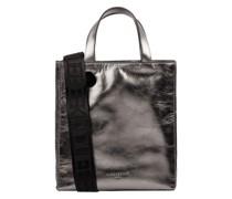 Handtasche aus Leder Modell 'Paperbag'