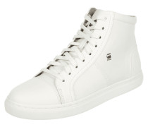High Top Sneaker mit Textileinsätzen