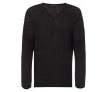 Serafino-Shirt aus Leinen