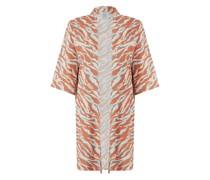 Kimono mit Streifenmuster Modell 'Sophia'