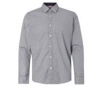 Regular Fit Freizeithemd mit grafischem Muster