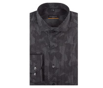 Slim Fit Hemd mit Camouflage-Muster