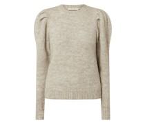 Pullover mit Puffärmeln Modell 'Doa'