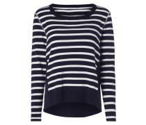 Pullover mit leichter Kontrastrückseite