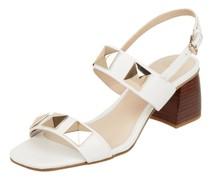 Sandalette aus Leder Modell 'Sabina'