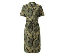 Blusenkleid mit Allover-Muster Modell 'Fana'