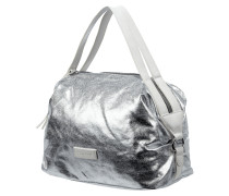 Handtasche in Metallicoptik