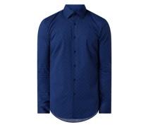 Slim Fit Business-Hemd aus Popeline Modell 'Jango'