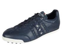 Sneaker aus strukturiertem Leder