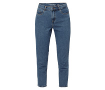 Vintage Washed Mom Fit Jeans