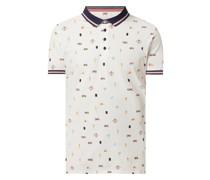 Poloshirt aus Piqué